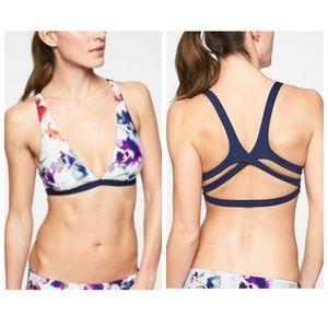 Athleta Watercolor Plunge 2-piece Bikini